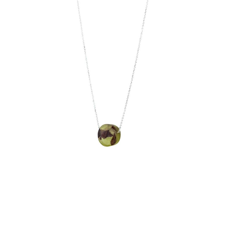 POINT OLIVE GREEN kaklo papuošalas