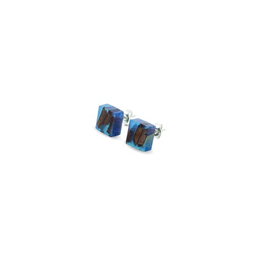 QUADRATIC  CLASSIC BLUE auskarai
